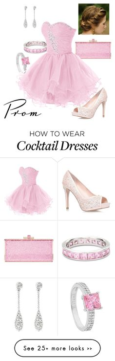 """Pink Prom"" by briony-jae on Polyvore featuring Judith Leiber"
