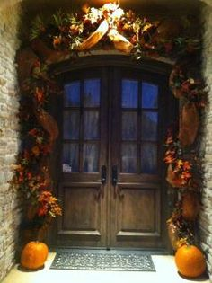 Fall decorations at my house.