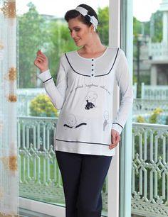 Şahinler Maternity Nursing Dress, Graphic Sweatshirt, Sweatshirts, Sweaters, Dresses, Fashion, Babydoll Sheep, Nightgowns, Vestidos