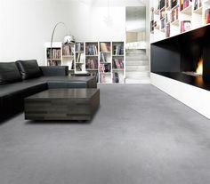 Betonlook pvc vloer verkrijgbaar bij Decokay Grobe in Almelo.