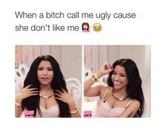 You may not like me, but I'm still cute boo, don't be petty, haha!