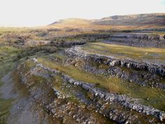 Whitescar, Chapel-le-dale, limestone pavement, Ingleborough, paragliding, aerial, Yorkshire Dales, landscape, mountain Yorkshire Dales, North York, Paragliding, Pavement, Origins, Geology, Britain, Rocks, Stones