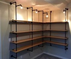 In updating from some Walmart style particle board and veneer type shelving units to something more durable and interesting, I decided on the industri...