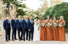 Long Halter Bridesmaid Dress, A-Line Backless Sexy Bridesmaid Dress, Halter Soft Satin Bridesmaid Dress, A-Line Backless Sexy Bridesma – Dairy Bridal. Fall Wedding Bridesmaids, Satin Bridesmaid Dresses, Bridesmaids And Groomsmen, Wedding Attire, Burnt Orange Bridesmaid Dresses, Orange Wedding Dresses, Bridesmaids With Different Dresses, 3 Bridesmaids Pictures, Colorful Bridesmaid Dresses
