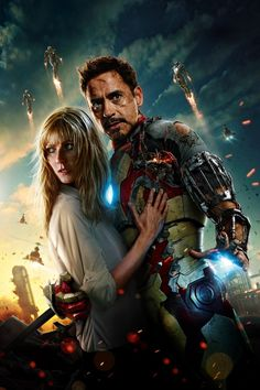 Iron man and Pepper Potts