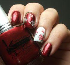 The Clockwise Nail Polish:   #nail #nails #nailart
