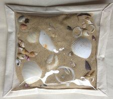 Beach Sand and Shells Sensory Bag Sensory Bags, Sensory Bottles, Sensory Activities, Sensory Play, Toddler Activities, Play Based Learning, Early Learning, Toddler Classroom, Preschool Science