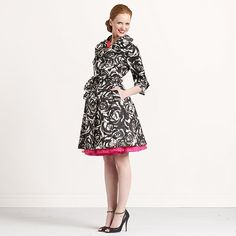 watercolor rose lauren trench by kate spade... Ugh Kate you steal my heart and my paycheck!