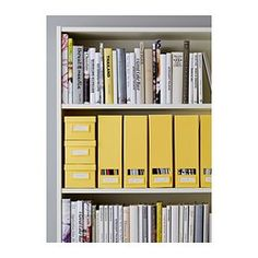 IKEA - BILLY, Bookcase, white, adapt space between shelves according to your needs. A simple unit can be enough storage for a limited space or the foundation for a larger storage solution if your needs change.