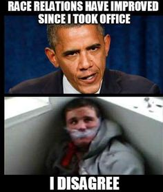 Barack⏩Lying is 2nd nature to you! Such BS from the biggest Divider & Racist of whites, I have ever witnessed from a⏩Potus! #GoAway