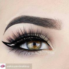 @wakeupandmakeup -  Beautiful @tinebeauty  #makeup #makeupgirls #makeupartist #makeupaddict #makeupforever #eyemakeup #eyebrows #eyeshadow #eyeliner