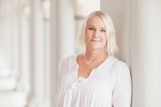 Business Portrait of Gunilla by Irina Nilsson Photography