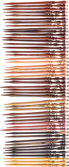 Hair Sticks - Any Color Really.. they have them with different end pieces and stick designs also. To put hair up in a bun, etc. NOTHING large hanging off that dangles, preferably please.