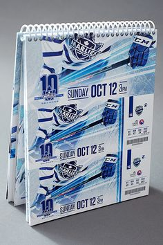 2014-15 Toronto Marlies Season Ticket Package on Behance
