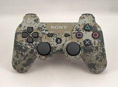No puede faltar en tu colección ps3!! PLAYSTATION 3 Urban Camo Modded Controller (Rapid Fire) COD Black Ops