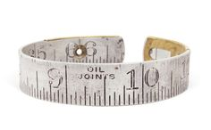 tape measure bracelet.  So geeky.