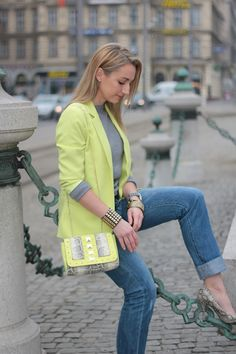 Neon in the city | Women's Look | ASOS Fashion Finder