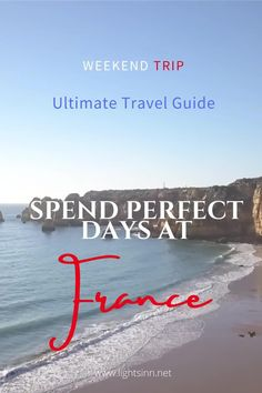 Complete Guide to the best places at France. All you need to know before Traveling to France | lightsinn | bretagne | france travel | bretagne tourism | normandy tourism | normandie | frankreich | etretat | coast #strand #visitfrance #etretat Summer Travel, Beach Travel, Travel Guide, Travel Ideas, Visit France, Instagram Travel, Mont Saint Michel, England And Scotland, Once In A Lifetime