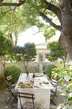 From grassy backyards to open-air courtyards, these gardens are full of inspiration for your next ou