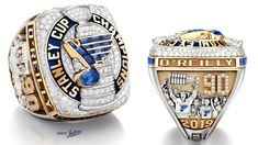 See the St. Louis Blues' 2019 Stanley Cup Championship ring from all angles. Music Note Logo, Blues Nhl, Gold Backdrop, Super Bowl Rings, The Sporting Life, Word Mark Logo, Stanley Cup Champions, St Louis Blues, Championship Rings