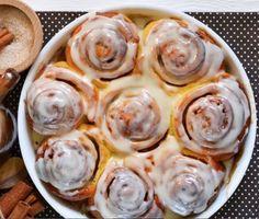 Самые вкусные булочки с корицей и сладкой заливкой. Съедаются за один присест | diy-idea | Яндекс Дзен