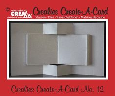 New Create-A-Card dies from Crealies now available at Crafts U Love…