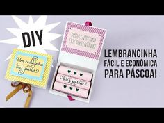 DIY Páscoa: Caixinha com batons | Namorada Criativa - Por Chaiene Morais Envelopes, Chocolate Bis, Learn English, Learning, Silhouette, Lipstick Case, Open When Letters, Easter Greeting Cards, Chocolate Box