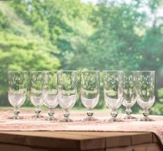 Princess Moderna™ Pedestal Glasses | Princess House