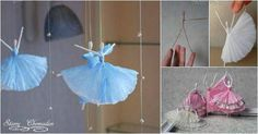 I came across this cute idea to make napkin paper ballerina fromStariy Chemodan's blog and would like to share it with you. I am always amazed at people's creative minds and skillful hands to make something ordinary becomeextraordinary.It's such a delicate and beautiful piece of craft! You can use different …