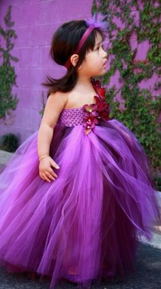 * Purple Flower Girl! Wouldn't this little beauty look like a princess with our these little treasures listed here in LS3241 http://lauriesarahdesigns.com/index.php?route=product/product&filter_name=amethyst&product_id=3931