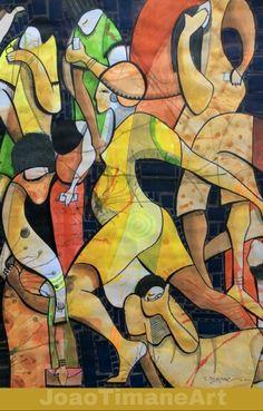 Geração Digital  Pintura de João Timane. Artista plástico Moçambicano.   Fb: JoaoTimaneArt