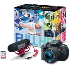 Canon EOS Rebel T5i DSLR Camera with 18-55mm Lens Video 8595B099