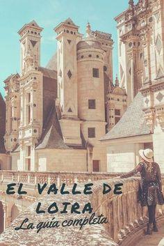Todo lo que necesitas saber para organizar tu viaje por el Valle de Loira! #valledeloira #loirevalley #chateau #france #francia Travel Around The World, Around The Worlds, Road Trip With Dog, Real Castles, Spain Travel, Travel Destinations, Travel Tips, Tourism, Places To Visit