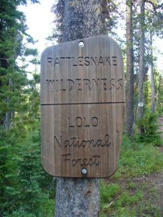 Rattlesnake National Recreation and Wilderness Area