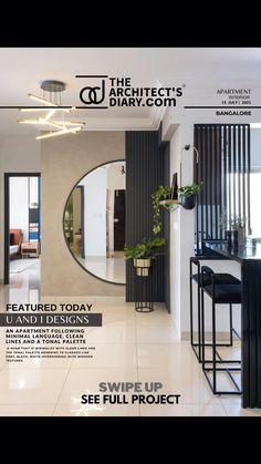 Apartment Interior Design, Luxury Interior Design, Minimal Apartment, Indian Home Design, Architect House, Modern Kitchen Design, Beautiful Interiors, Architecture Design, New Homes