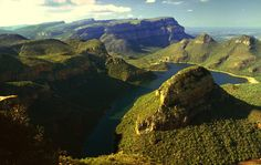 World's Most Spectacular Canyons  - Blyde River Canyon - Mpumalanga, South Africa