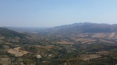 The mountainous interior of western Sicily is a patchwork of olives, grapes, citrus and grain.  ​