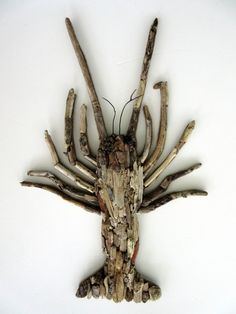 Driftwood Florida Lobster Coastal Wall Decor