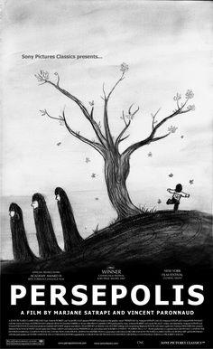 Persepolis  américano-français de Vincent Paronnaud et Marjane Satrapi sorti en France le 27 juin 2007
