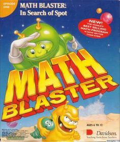 Actual Game Math Blaster In Search of Spot 1-Click Install Windows 10, 8, 7, Vista, XP (Davidson 1995) MY PROMISE My games are genuine, install in one step, look, sound and play in Windows 10, 8, 7, V