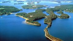 Lake Saimaa.