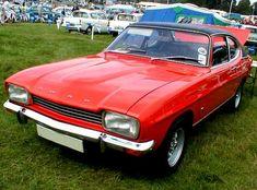 1970s Ford Capri Mk1 photograph at www.oldclassiccar.co.uk