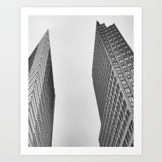 Black+Skyscraper++Art+Print+by+Steffen+Glaeser+-+$20.00