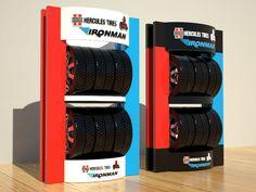Tire Rack, Tyre Shop, Display Design, Industrial Design, Locker Storage, Garage, Behance, Retail, Branding