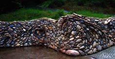 River Rock Wave Wall (by Michael Eckerman)
