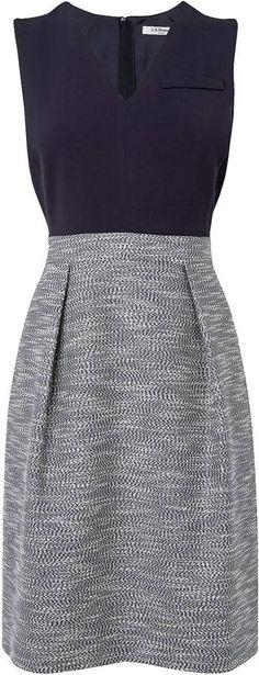 LK Bennett Seta Fabric Block Dress on shopstyle.co.uk