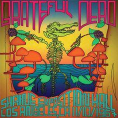 Grateful Dead - Shrine Exposition Hall, Los Angeles, CA 11/10/1967 on Limited Edition 180g 3LP