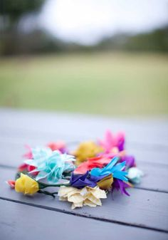 So doing this for Lily. She would love a fabric crown
