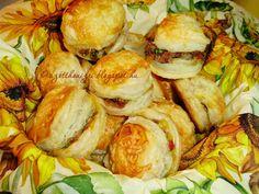 Az otthon ízei: Pletykapogácsa - leveles tésztából