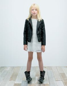 CROCHET DRESS - Dresses - Girl (2-14 years) - Kids - ZARA Serbia